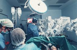 Robotic minimally invasive surgery